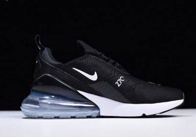2018 Latest Nike Air Max 270 BQ0742-99 Summer Mens Sneakers Moves You Black White_2